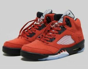 🔥 IN HAND TODAY Nike Air Jordan Retro 5 Raging Bull 2021 DD0587-600 size 10 🔥
