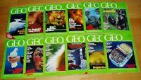 GEO Zeitschrift 1991 komplett Bild der Erde Jahrgang 12 Hefte Sammlung Natur