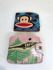 Paul Frank Thomas Campbell Collaboration Limited Edition Deadstock Wallet Lot