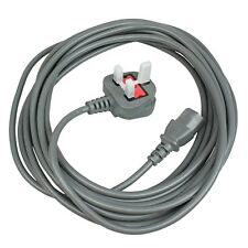 Power Lead Mains Cable for Nilfisk G90 GM80 Vacuum Cleaners (UK Plug, 2 Pin 7m