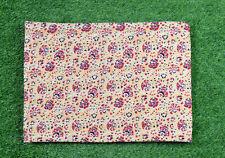 Kantha Quilt Twin Size Bedsheet Handmade Cotton Floral Gudri Blanket Ralli Throw