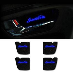 LED Inside Door Plate DIY Kit 4p For 2007 2012 Hyundai Santa Fe