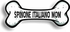 """Dog Mom Spinone Italiano Bone Car Magnet Bumper Sticker 3""""x7"""""""