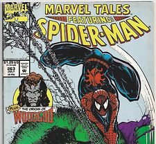 MARVEL TALES #263 Spider-Man & The Incredible Hulk July 1992 in Fine- Con. DM