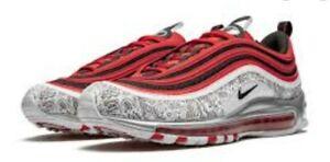 "Nike Air Max 97 Jayson Tatum ""Saint Louis Roots"" CJ9780-600 Men's Size 13"