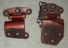 1965 1966 1967 1968 Ford Galaxie right rear door upper & lower hinge 65 66 67 68