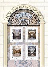 france 2019 Passages VERDEAU VIVIENNE Galeries VERO DORAT Paris ms 4v mnh s/adh