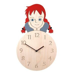 Anne of Green Gables Wooden Wall Clock Modern Creative Art Design Home Decor
