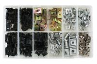 35995 - Metal bodyshop fixings Asstd Metal Trim Nuts & U Nuts - 245 Pieces
