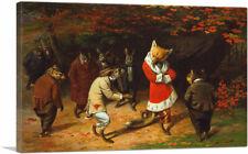 ARTCANVAS His Majesty Receives 1885 Canvas Art Print by William Holbrook Beard