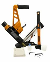 "Freeman Pneumatic 3-in-1 15.5-Gauge and 16-Gauge 2"" Flooring Nailer and Stapler"