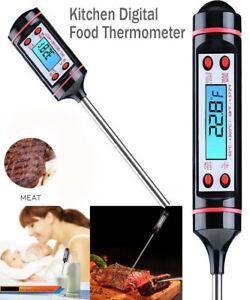 Digital Food Thermometer Probe Turkey Milk Cooking Meat Kitchen Temperature BBQ