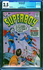 Superboy #68 CGC 2.5 -- 1958 -- 1st app Bizarro Superman. #2062333003