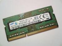 4GB DDR3L-1600 PC3L-12800 1600Mhz SAMSUNG M471B5173QH0-YK0 RAM MEMORY SODIMM RAM