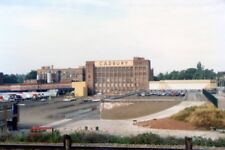 PHOTO  CADBURY WORLD FROM THE WORCESTER AND BIRMINGHAM CANAL. 1990