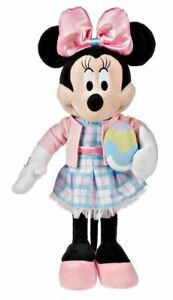 Disney 23 in Tall Easter Minnie Mouse Greeter with Easter Egg NWT