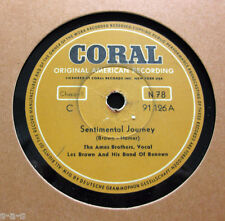 Nice Price: Ames Brothers - Sentimental Journey / Jo Ann Greer  CORAL 91126