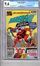 Daredevil Annual 4 9.6 CGC W/P App..Spider Man & Dr. Strange..!