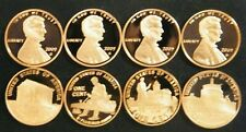 2009 S Lincoln Penny Set Gem Proof 4 coin Set from the Mint No box, COA or case