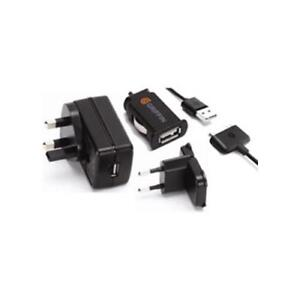 Griffin GA23105 iPod iPhone iPad Mains Plug Wall In Car Charger UK Europe Black
