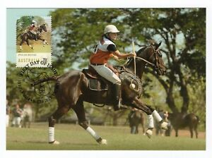 Equestrian Events Maxicard Set 15th July 2014   FDC