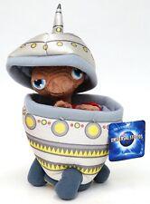 "New Universal Studios 7"" E.T. Plush In Spaceship 12"" Plush Toy"