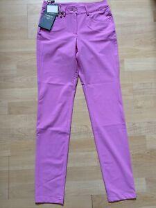 NWT Chervo Ladies Sheedy Golf Trousers 63020 784 Pink Sz US 2 6 ITA 38 42 NEW