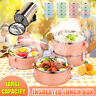 4 Layer Compartments Lunch Box Kids Adults Food Container Bento Storager Boxes