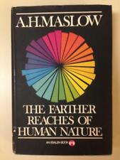 The Farther Reaches of Human Nature A H Maslow 1971 HC 1st Edition 4th Printing