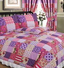 Linge de lit et ensembles bleu avec des motifs Patchwork pour chambre