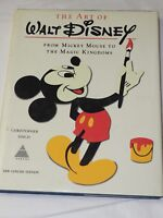 THE ART OF WALT DISNEY From Mickey Mouse to Magic Kingdom Hardcover w D/J 1975