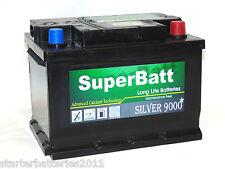 SuperBatt 075 CAR BATTERY ALFA ROMEO PETROL 166 2.0 (2000->), BRERA 2.2 (2006->)
