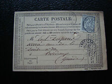 FRANCE - carte 1877 (cy34) french (T)