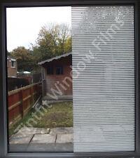 BIANCO 10mm linee 50cm X 1m-Decorativo PRO finestra tinta tinteggiatura Pellicola In Vinile