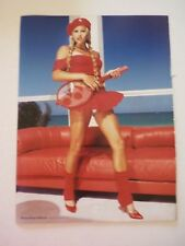 Anna Kournikova 98* Degrees Double Sided Coffee Table Book Photo Page 8x12
