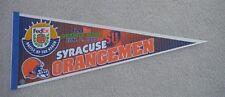 1999 Syracuse Orangemen Orange Bowl Game Day Pennant Unsold Stock