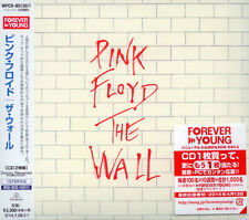 PINK FLOYD The Wall * SEALED JAPAN CD Limited digipak OUT OF PRINT WPCR-80130