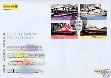 BRD 2006: Eisenbahnen! Post-FDC Nr 2560-2563 mit Berliner Sonderstempel! 1A 1702