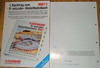 FRANCAISE texte complementaire N Fleischmann 9957.1 NEW LJ7