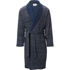 NWT UGG AUSTRALIA Men's ROBINSON Shawl Collar PLUSH Bath Robe BLUE L/XL $145!