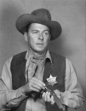 "Photo de Ronald Reagan dans le film ""US Marshall"""