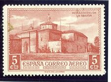 SPAIN;  1930 early Columbus AIR issue fine Mint hinged 5c. value