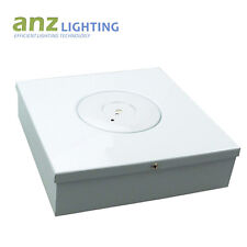 3W LED EMERGENCY SQUARE SPITFIRE DOWNLIGHT SURFACE MOUNTED COMMERCIAL LIGHT