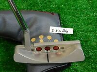"""Titleist Scotty Cameron 2018 Select Laguna 34"""" Putter with Headcover Excellent"""