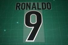 Inter Milan 99/00 #9 RONALDO Awaykit Nameset Printing