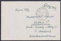 Feldpost Berlin Pankow Brief WW II Flak Ersatz Abt. 51 Stettin mit Inhalt 1941