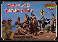 Strelets Models 1/72 EARLY WORLD WAR II AMERICAN SOLDIERS Figure Set