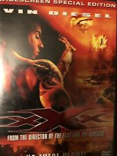 Xxx (Dvd, 2002, Widescreen Special Edition) Vin Diesel Action