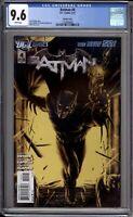 Batman 4 New 52 Variant CGC Graded 9.6 NM+ DC Comics 2011