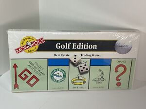 Monopoly GOLF EDITION 1996 - Pebble Beach - Pinehurst - Doral - Sealed New